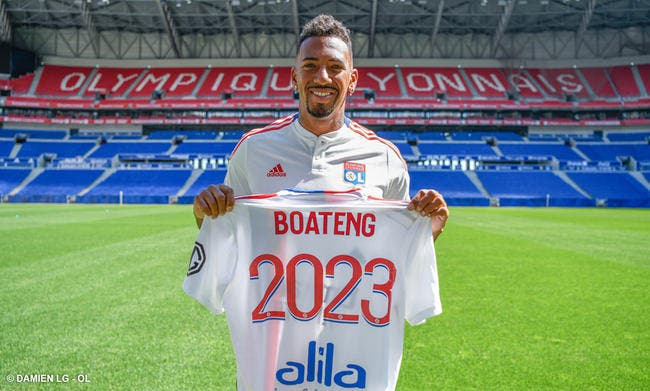 Jérome Boateng signe à Lyon jusqu'en 2023 !
