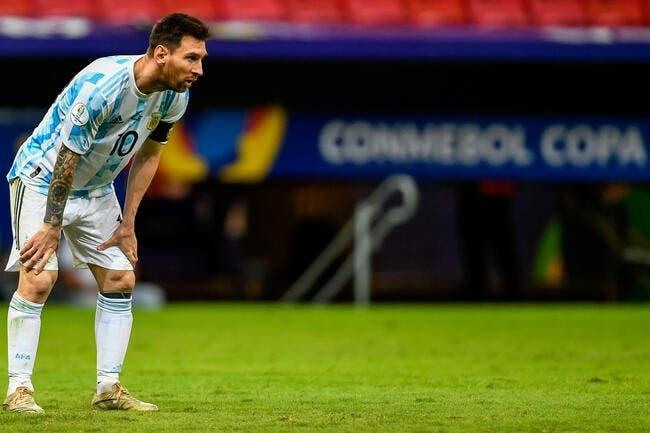 Messi échappe à une énorme blessure