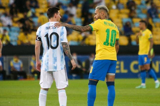 Foot : Brésil - Argentine suspendu sur fond de scandale sanitaire