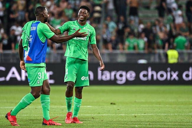 ASSE : Sow et Green choquent Saint-Etienne