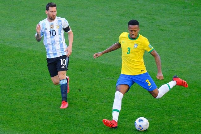 Brésil-Argentine : Lionel Messi pique sa crise !