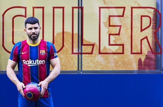 Esp : A peine arrivé, Agüero dézingue le Barça !