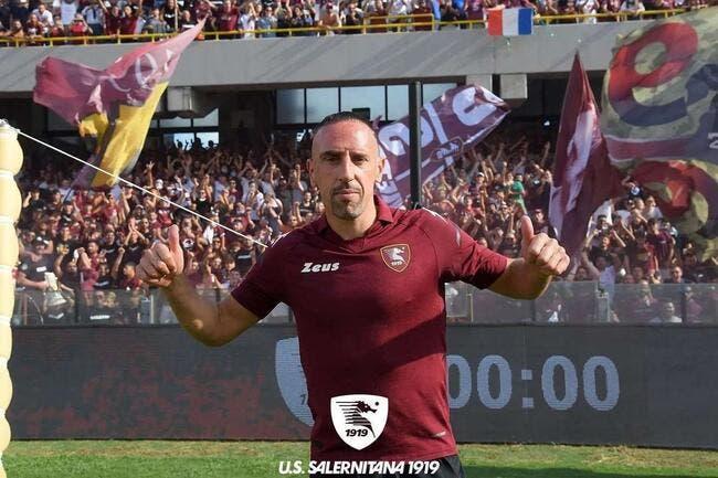 Officiel : Franck Ribéry signe un an avec Salerne