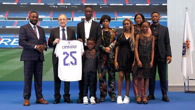 Esp : Camavinga officiellement présenté par le Real Madrid