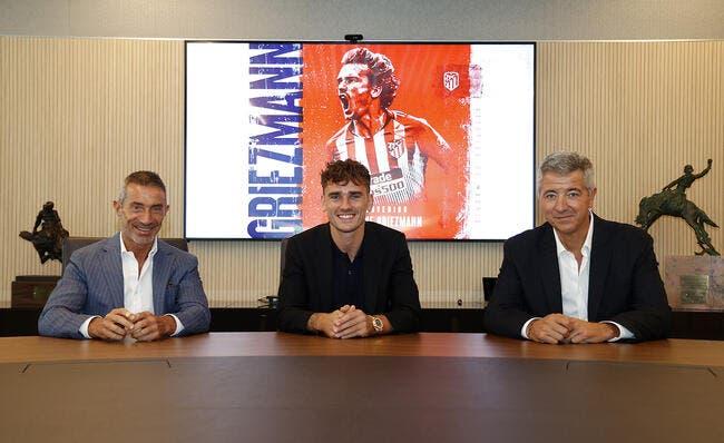 Esp : Griezmann de retour à  Madrid avec une surprise