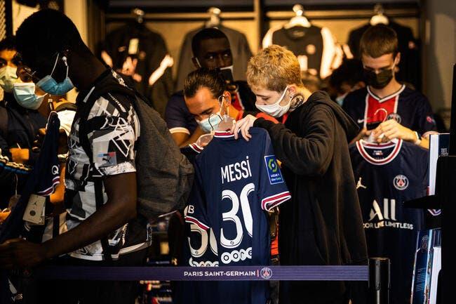 PSG : 140 euros le maillot de Messi, qui se goinfre ?
