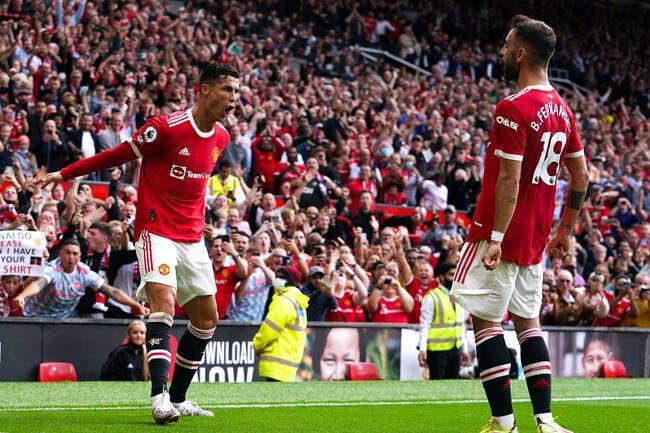Ang: Cristiano Ronaldo double buteur pour son retour à MU!