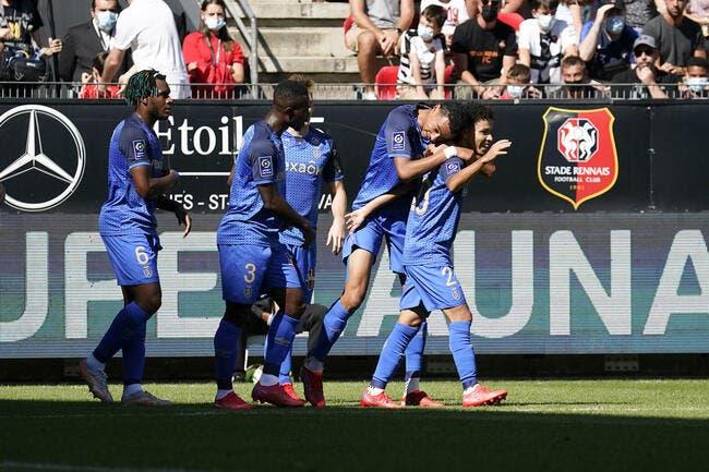 L1 : Rennes piégé par Reims, Bordeaux en crise