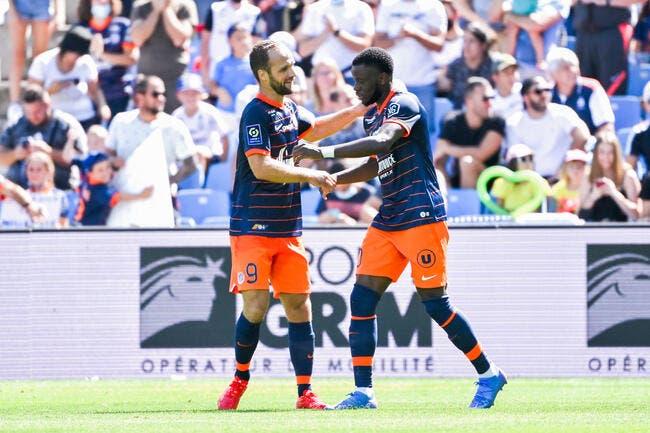 Montpellier et Germain enfoncent l'ASSE