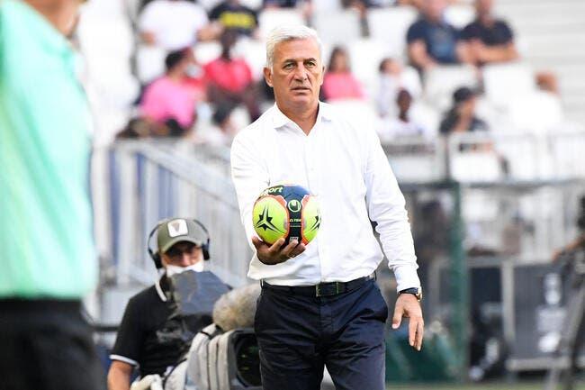 Bordeaux : Petkovic, sa tête ne revient pas à Gilbert Brisbois