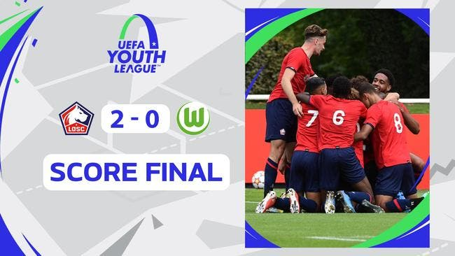 Youth League : Lille domine Wolfsburg