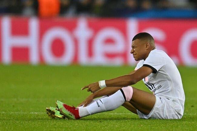 PSG : Des nouvelles de la blessure de Mbappé