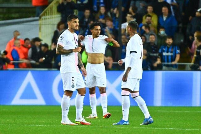 PSG : Fiasco en Belgique, 5 joueurs accusés