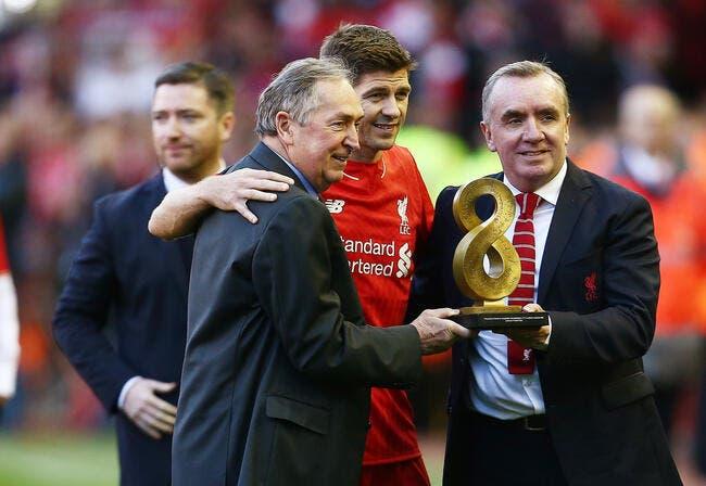Steven Gerrard accueille l'OL avec une énorme émotion