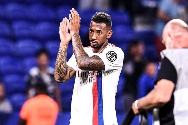 OL : Boateng dans le dur, il prend un premier tacle à Lyon