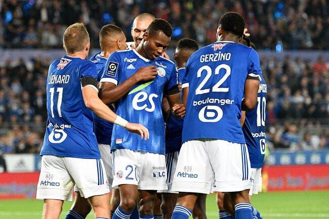Strasbourg survole le derby de l'Est !