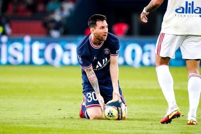 Officiel : Messi blessé et forfait contre Metz