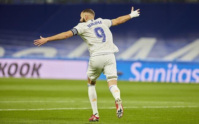 Liga : Benzema encore déchainé face à Majorque