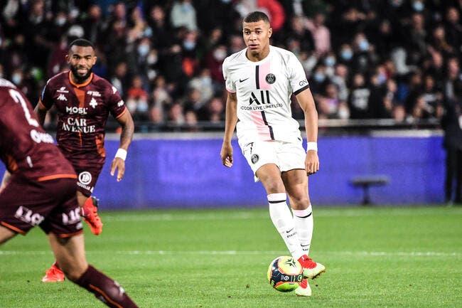 PSG : Le geste polémique de Mbappé contre Metz