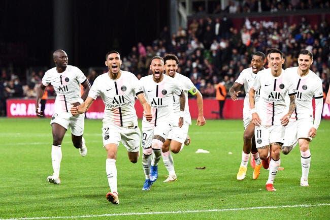 Le PSG joue mal, Domenech est séduit
