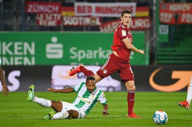 Bundesliga : Pavard voit rouge, pas le Bayern