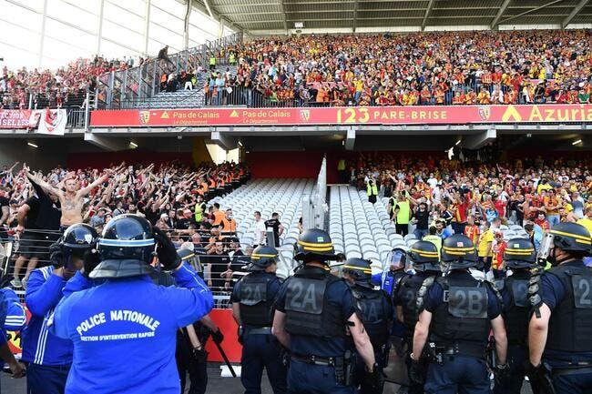 Lens : 17 supporters interdits de stade