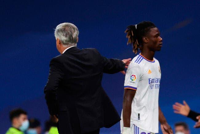 Real : Camavinga se fait calmer direct par Ancelotti