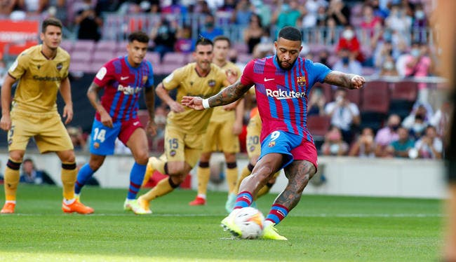 Liga : Depay lance le réveil du Barça