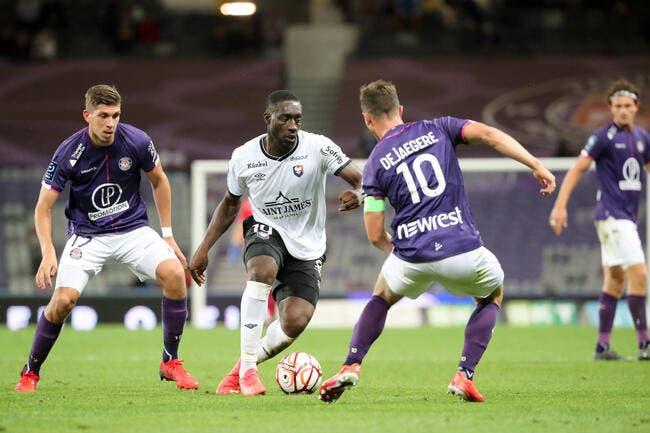 L2 : Caen inflige sa première défaite à Toulouse