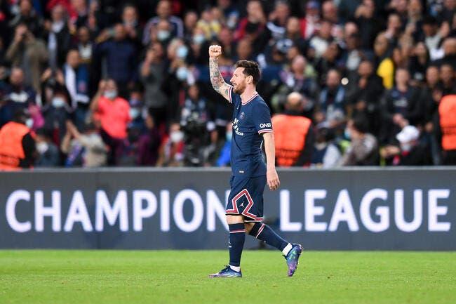 Lionel Messi porte le PSG