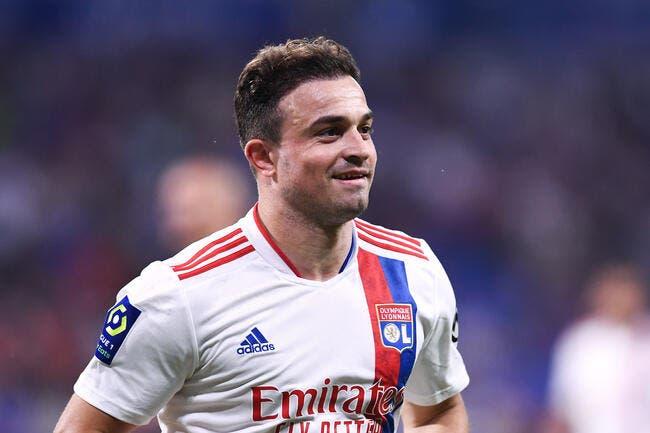 OL : Shaqiri multiplie les bonnes nouvelles pour Lyon