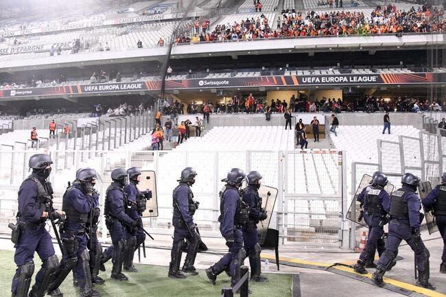 OM-Galatasaray : Match interrompu, le parcage turc a craqué