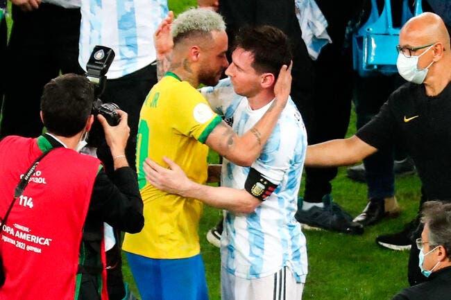 PSG : Neymar-Messi, la photo fait encore polémique