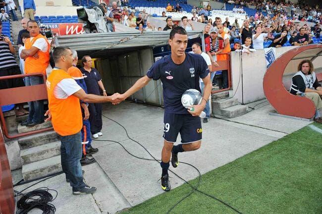 Chamakh dicte ses conditions à Bordeaux