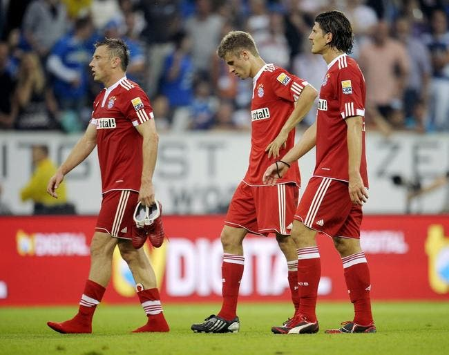 Le Bayern reste à quai