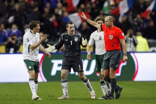 L'Irlande déboutée par la FIFA