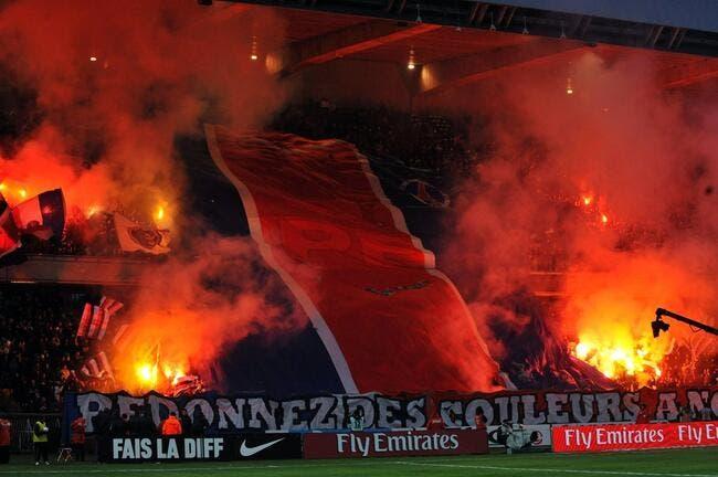 La photo foot : Paris joue avec le feu