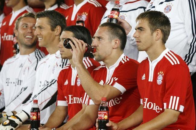 La photo du jour : Ribéry fait le guignol