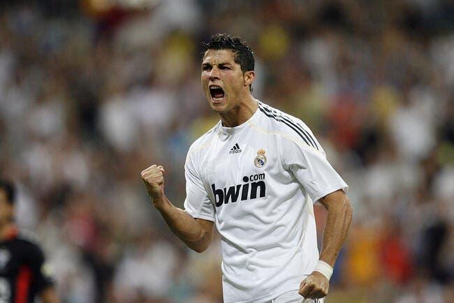 La photo du jour : Ronaldo marque son premier but avec le Real