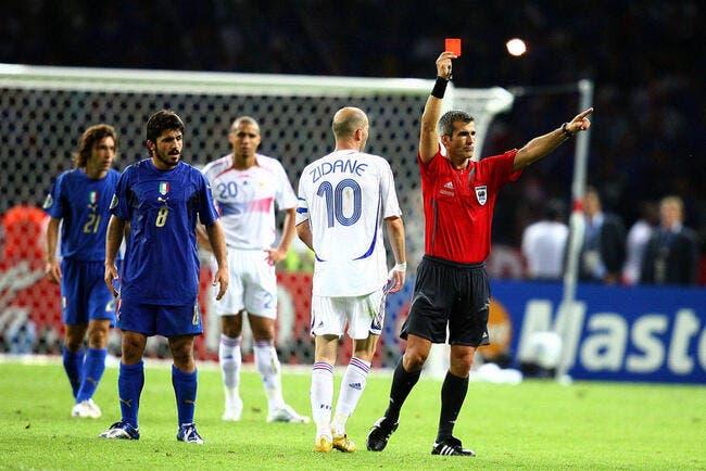 Equipe de france zidane rejoue la finale 2006 foot 01 - Coupe du monde de football 2006 ...
