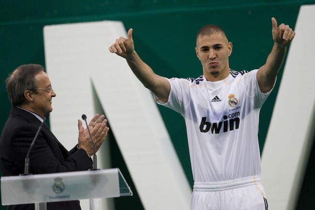 Benzema, le Real Madrid j'y suis, j'y reste