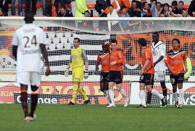 Lorient s'est fait un petit plaisir contre Bordeaux
