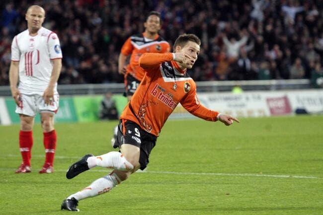 Lorient rembarre Monaco pour Gameiro