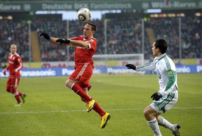 Le Bayern pousse le champion dans le décor