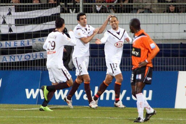 Vidéo : Les buts de Lorient-Bordeaux