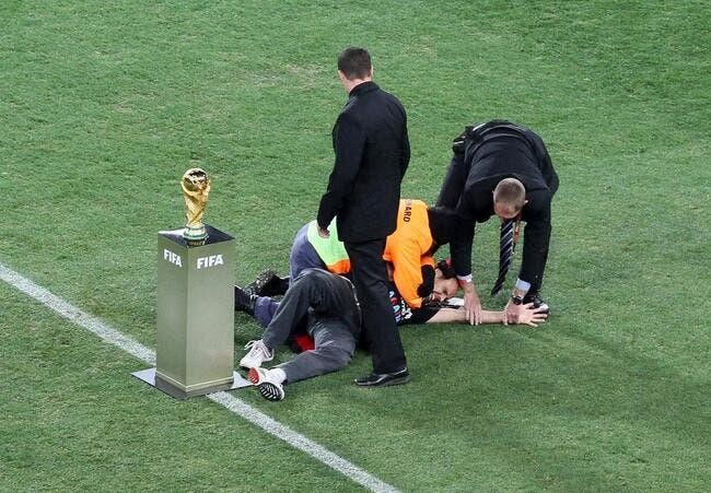 Photos de foot la photo foot on a failli voler la - Vainqueur coupe du monde 2010 ...