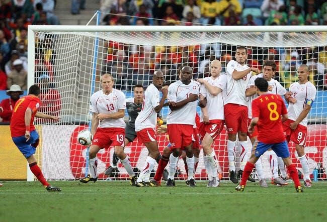 L'Espagne tombe devant le mur suisse