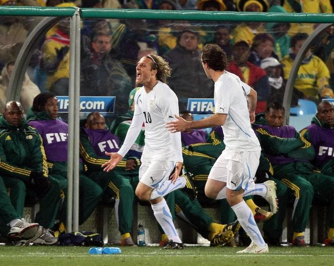 L'Uruguay met une baffe aux Bafana Bafana