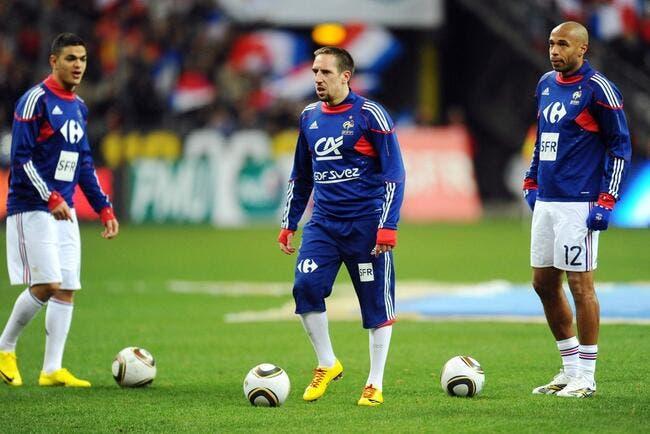 Ribéry voit loin pour les Bleus