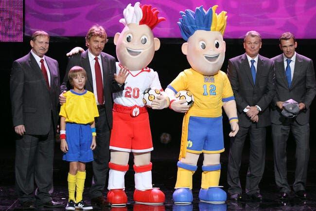 Photo du jour : L'Euro 2012 a ses mascottes